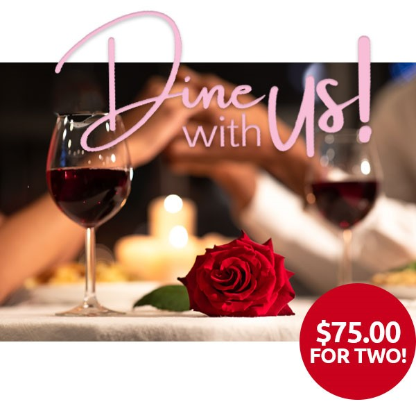 Dine with Us in Orlando on Valentine